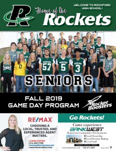 Boosters Game Day Program